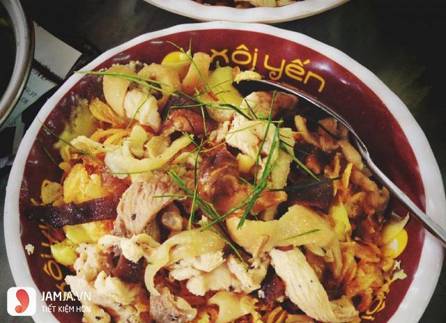 Quán ăn ngon ở Hà Nội vào buổi tối-xôi yến