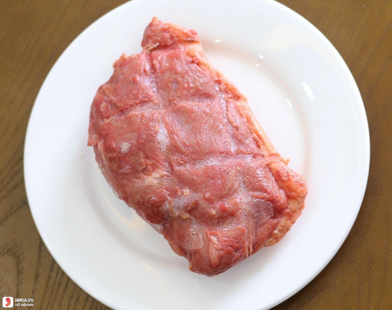 Thịt ngỗng giả cầy