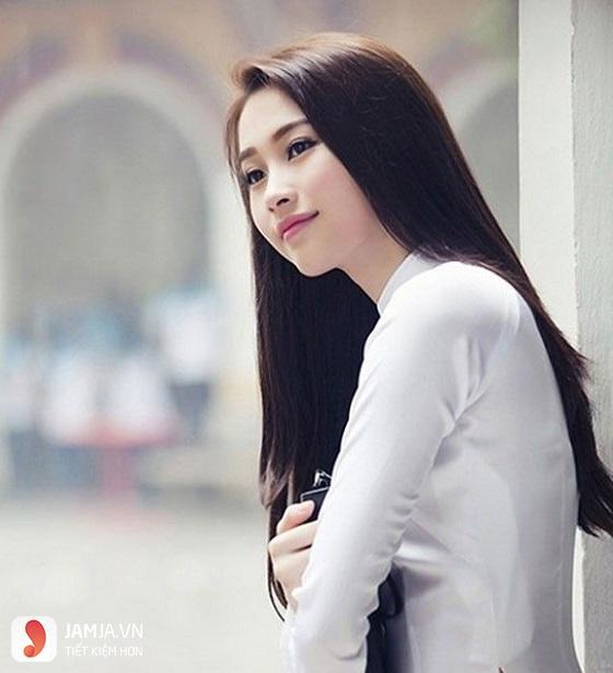 Tóc dài thẳng - 1