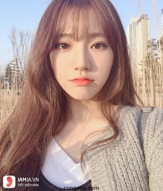 tóc màu nâu caramel 16