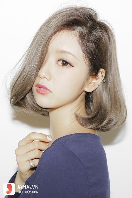 tóc màu nâu caramel 18