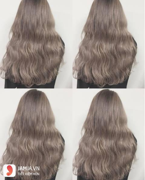 tóc màu nâu caramel 19