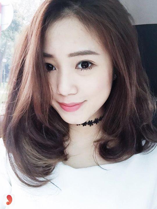 tóc màu nâu caramel 21