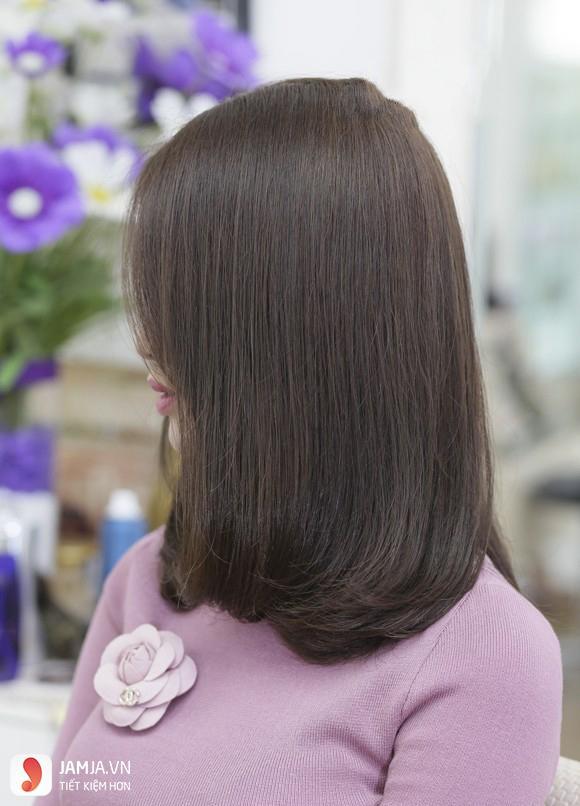 tóc màu nâu caramel 9