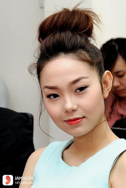 Tham khảo thêm một số kiểu tóc hợp với khuôn mặt tròn trán cao 11