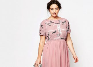 váy cho người mập và thấp 12