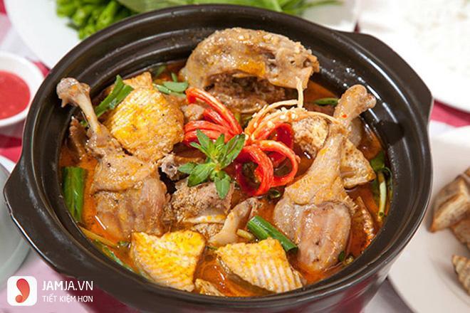 vịt nấu chao nước cốt dừa