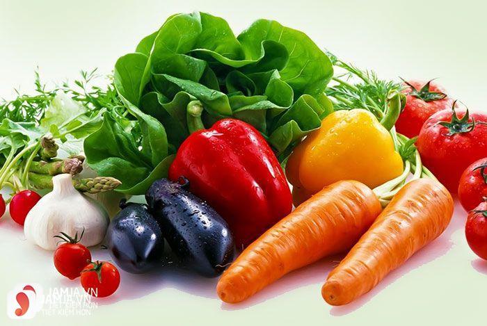 Vitamina trong các loại rau củ quả