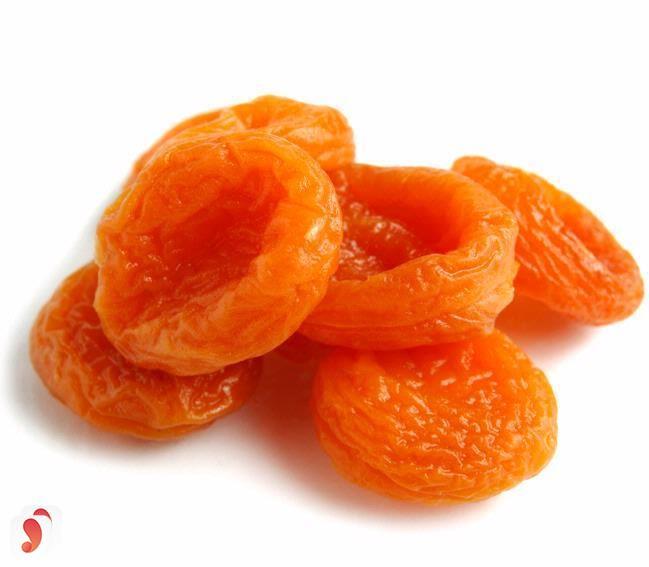 vitamin a trong mơ khô