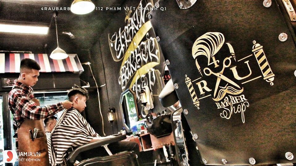 Tiệm cắt tóc 4RAU Barber SHOP