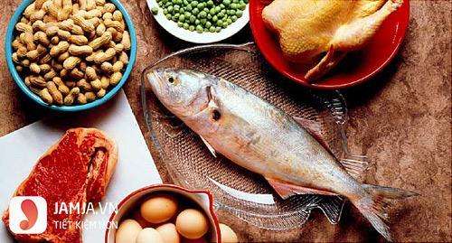 Ăn gì để thai nhi tăng cân 1