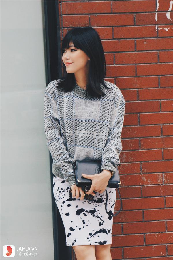 Áo màu xám kết hợp với quần màu gì - 4