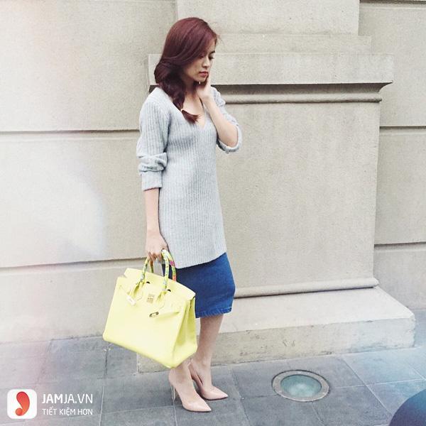 Áo màu xám kết hợp với quần màu gì - 6