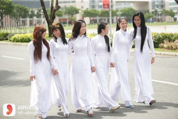 các kiểu áo dài học sinh 2