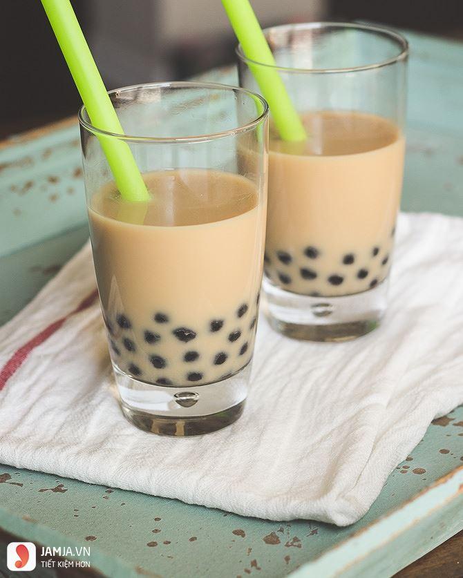 Cách pha trà sữa 1