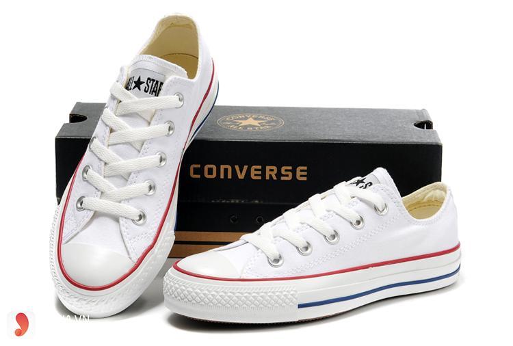 Giày Converse trắng 1