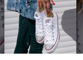 Cách giặt giày Converse trắng 3