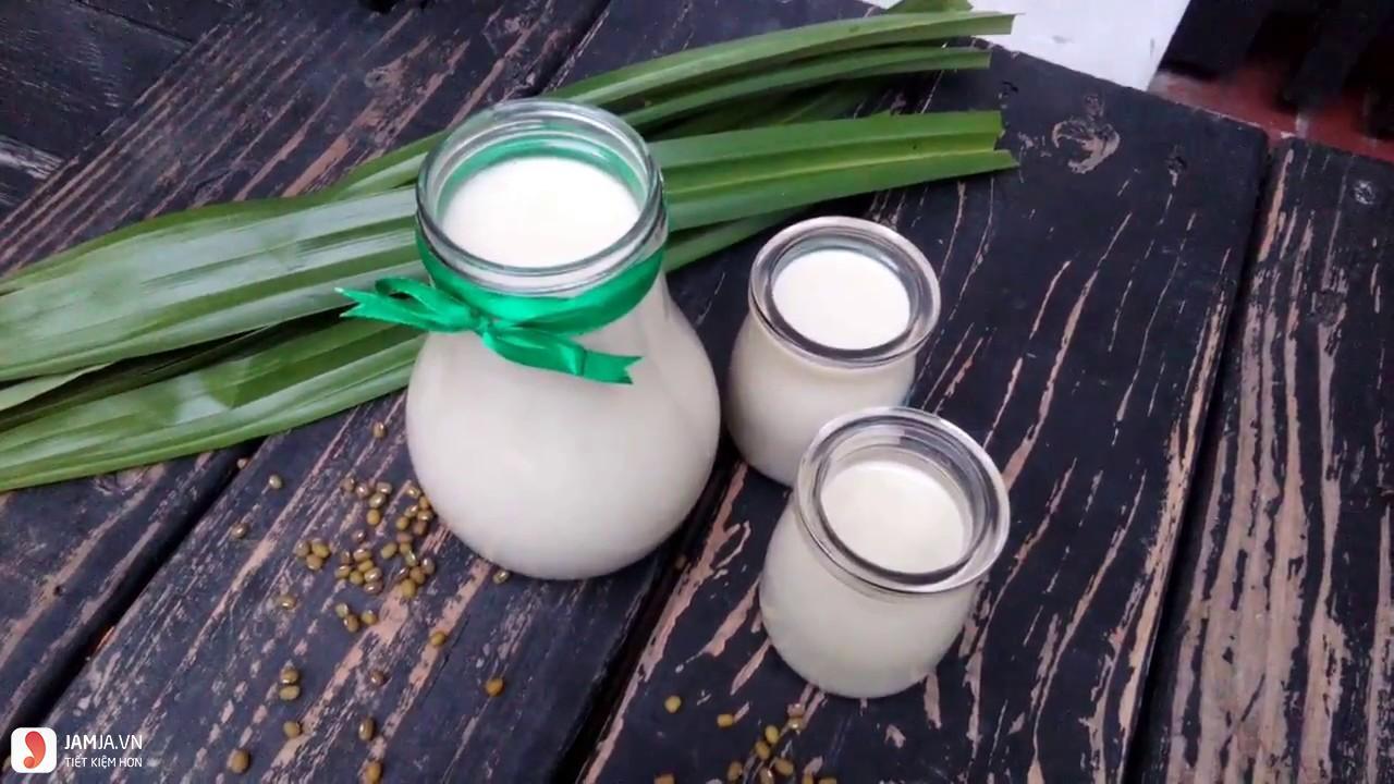 Cách làm sữa đậu xanh bằng máy xay sinh tố 1
