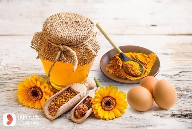 Đắp mặt nạ nghệ mật ong có tác dụng gì?