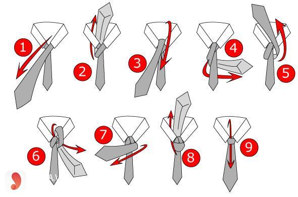 cách thắt cavat đơn giản nhất 2