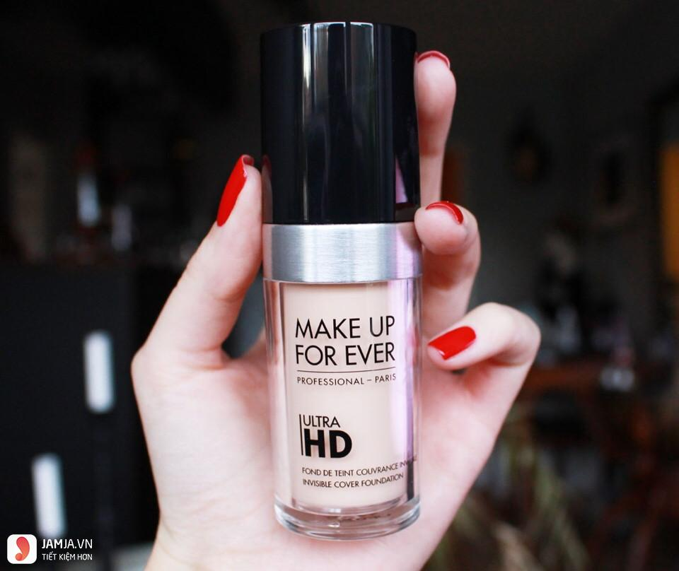 Kem nền Make Up For Ever Ultra Invisible Cover Foudation