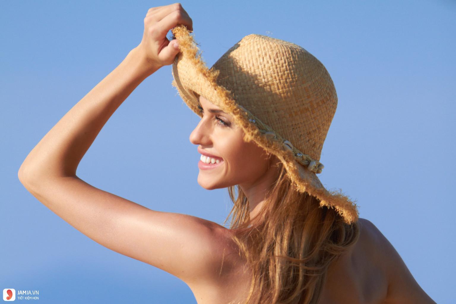 Dùng mặt nạ nghệ có ăn nắng không?
