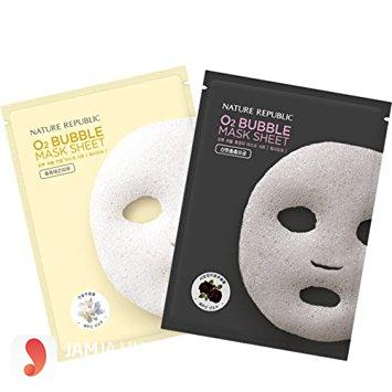 Nature Republic O2 Bubble Mask Sheet 1