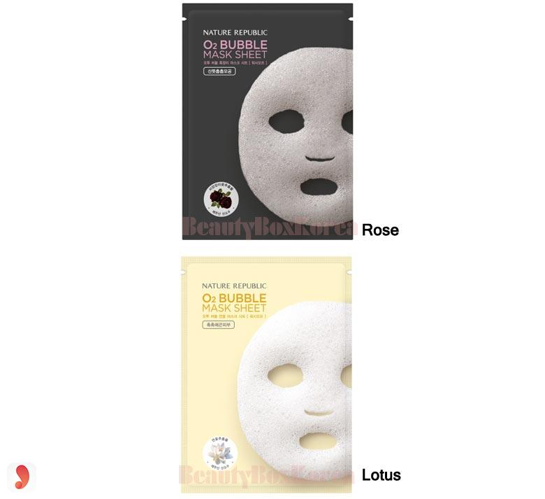 Nature Republic O2 Bubble Mask Sheet 3