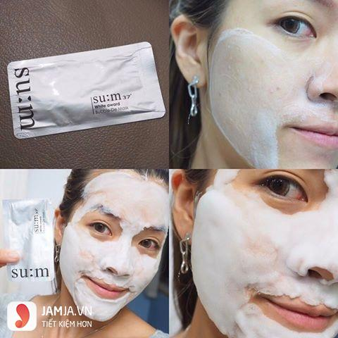 Su:m 37 White Award Bubble-de Mask