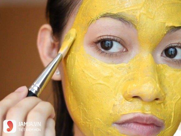 mặt nạ vitamin E và tinh bột nghệ 3
