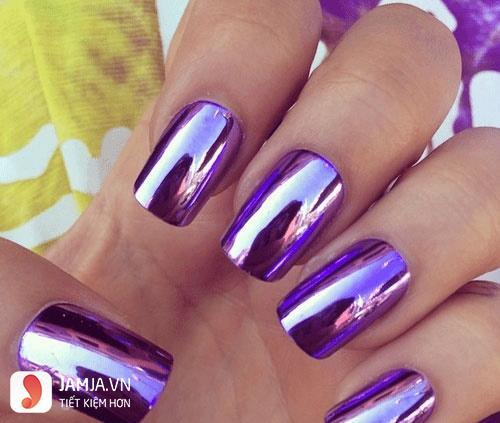 Các loại sơn móng tay màu Chrome