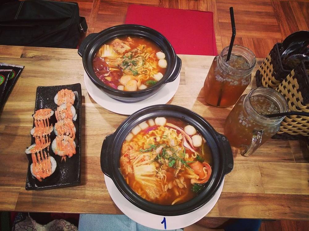 Mì cay 7 cấp độ ở Trần Quốc Hoàn menu