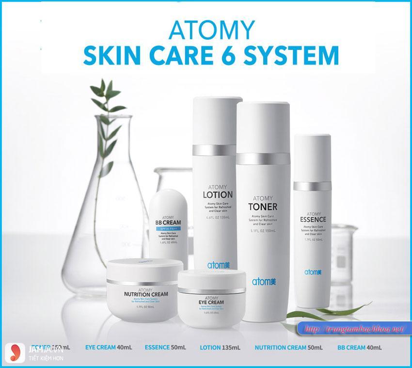 Các sản phẩm làm đẹp của Atomy 1