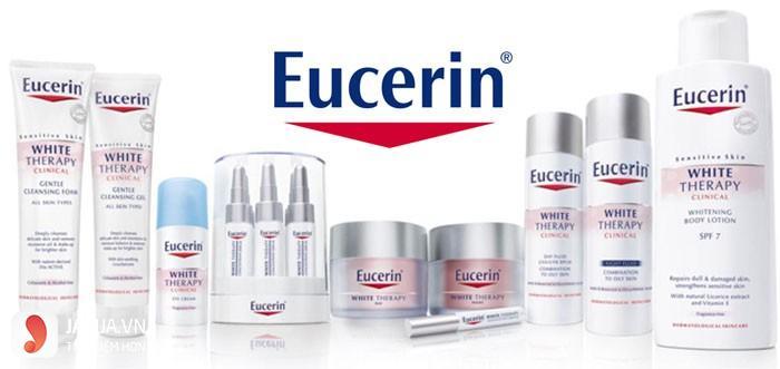 thương hiệu mỹ phẩm Eucerin 1