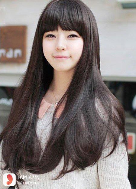 tóc đen dài thẳng đẹp2