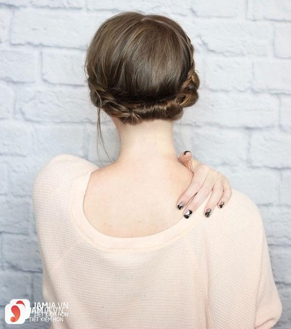 Tết tóc kiểu quý phái