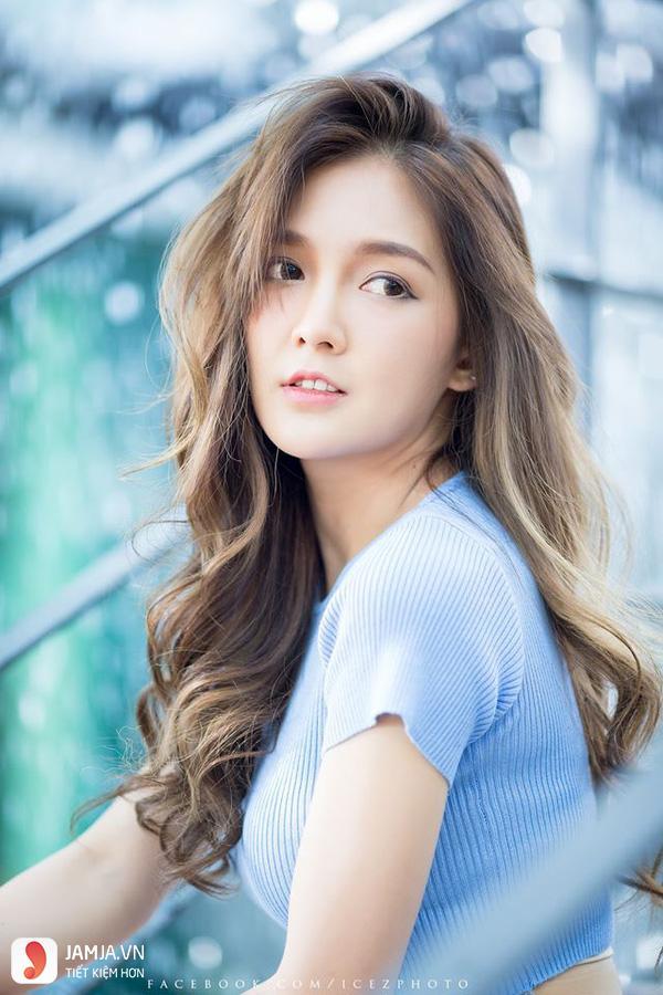 Tóc mái dài Hàn Quốc