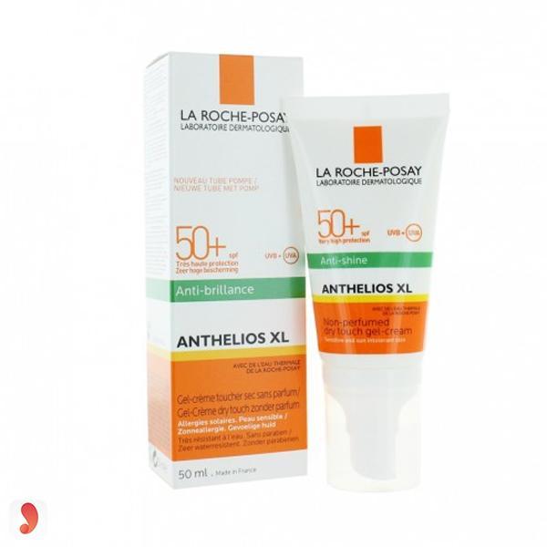 Anthelios XL SPF 50+Dry touch gel-cream Anti-shine