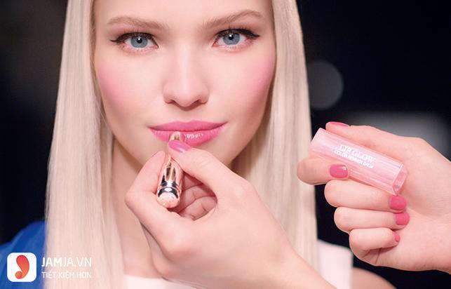 bảng màu Son Dior Addict Lip Glow 001