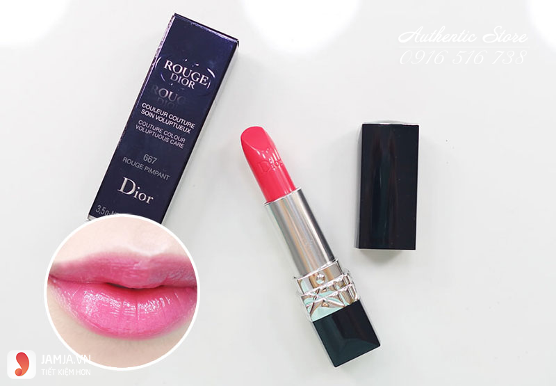 bảng màu Son Dior Rouge 667 Limited Edition
