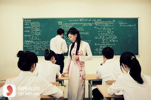 áo dài đồng phục giáo viên đẹp9