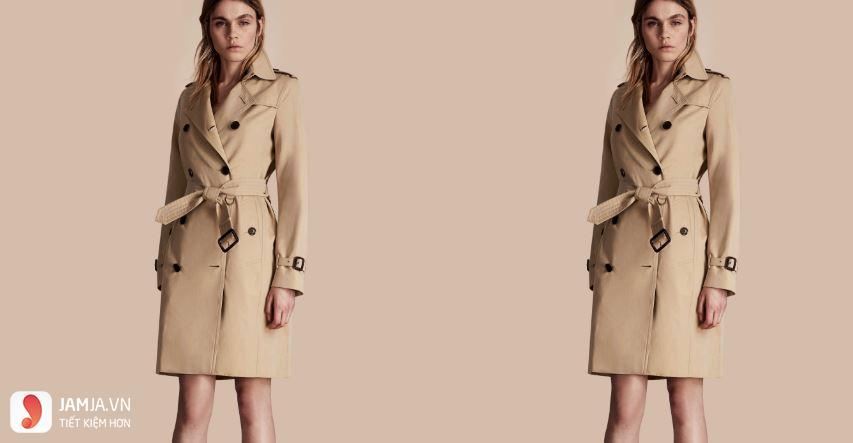 áo khoác nữ burberry chính hãng 1