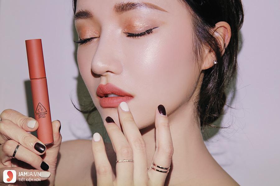 Bảng màu son 3CE Velvet Lip Tint 3