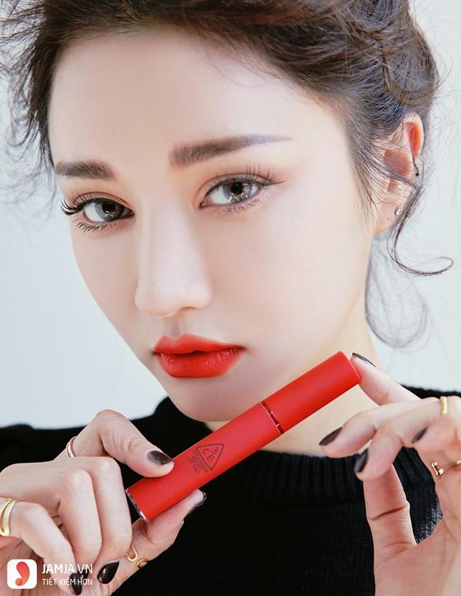 Bảng màu son 3CE Velvet Lip Tint 4