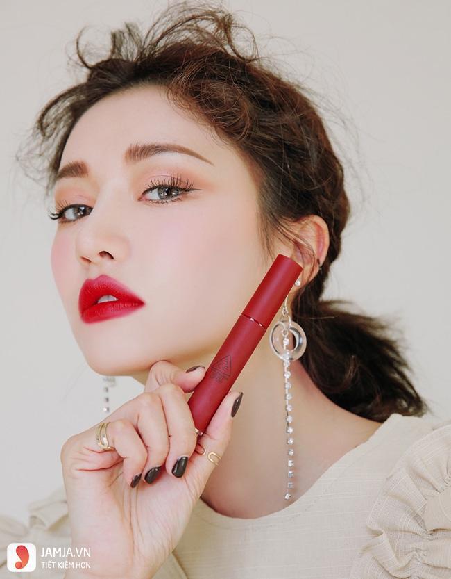 Bảng màu son 3CE Velvet Lip Tint 5