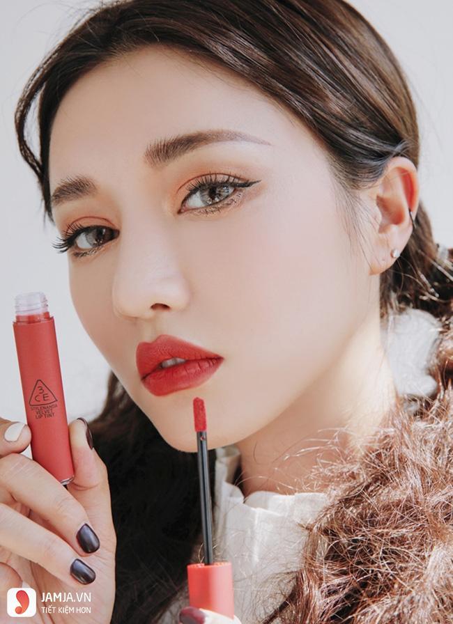 Bảng màu son 3CE Velvet Lip Tint 6