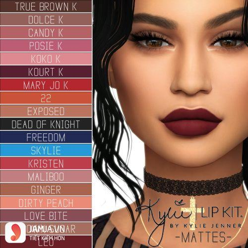Bảng màu sonKylie Lip Kit 2