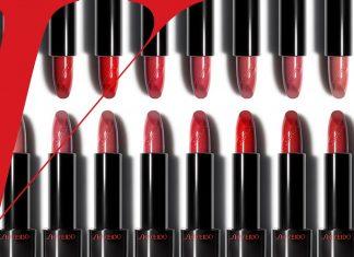 Bảng màu son Shiseido 8