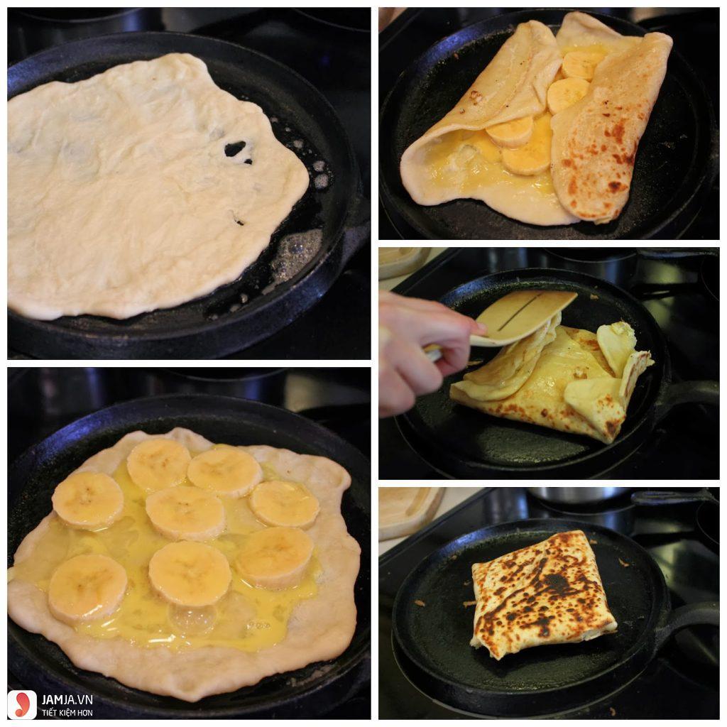 Bánh rán chuối kiểu thái 2