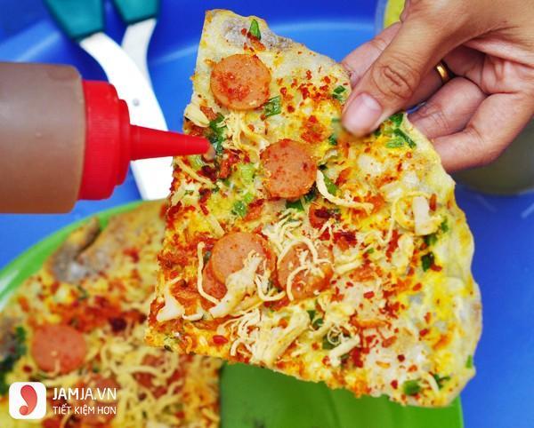 Bánh tráng nướng Sài Gòn - Pizza Việt Nam